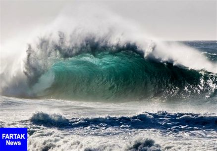 هشدار امواج ۲.۵ متری در دریای خزر و خلیجفارس