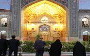 زائران اجازه تشرف به حرم منور رضوی را یافتند