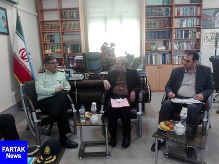 لزوم افزایش تعامل بین دستگاه قضائی و نیروی انتظامی استان