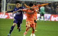 شکست شارلوا در حضور دو بازیکن ایرانی