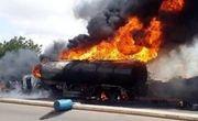 حریق تانکر سوخت در جاده مشهد- تربتحیدریه منجر به مرگ راننده شد