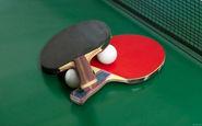 مسابقات تنیس روی میز کارمندان زن در قزوین برگزار شد