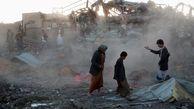 9 کشته در حمله هوایی ائتلاف سعودی به شمال غرب یمن