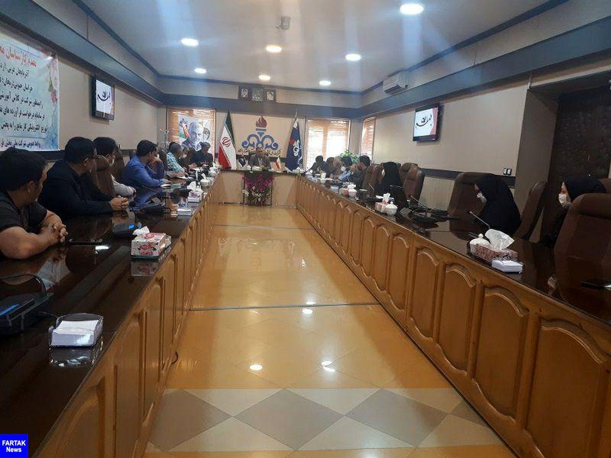 شرکت پخش منطقه کرمانشاه نحوه اجرای طرح توزیع الکترونیکی گازمایع را به ده منطقه دیگر آموزش داد