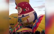 فستیوال بزرگ بالنهای عجیب و غریب در مکزیک