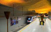 قطار شهری شیراز بخاطر اختلال در فعالیت پمپ بنزینها رایگان شد