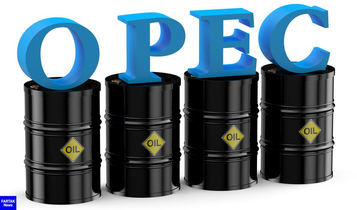 نفت اوپک 2 دلار ارزان شد