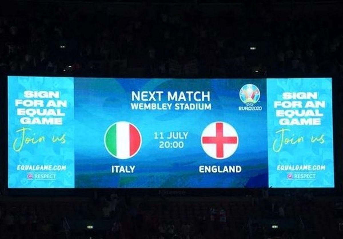 انگلیس به ایتالیا دو دقیقه هم زمان نداد! (عکس)