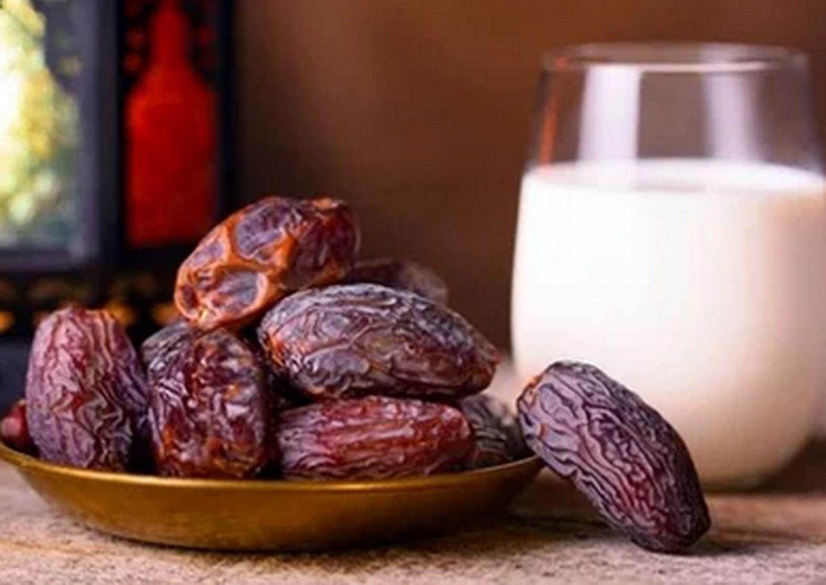 تاثیر شیر و خرما در جلوگیری از کم خونی