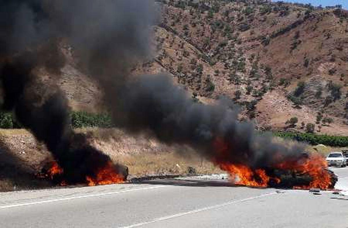 2 کشته و 2 مجروح در تصادف 2 پراید در محور پلدختر- خرم آباد