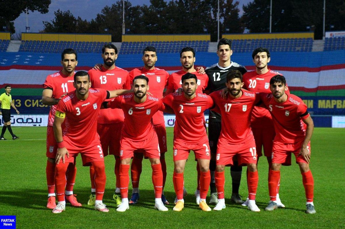 22 آبان تیم ملی ایران به مصاف بوسنی می رود