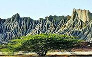 منطقه ای در ایران که به کوههای مریخی معروف است