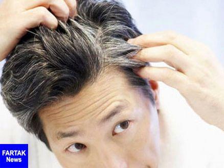 رفع سفیدی مو با این معجون