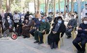 اختصاصی/ گزارش تصویری از مراسم بزرگداشت سردار حجازی و قرائت وصیت نامه