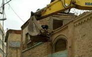 توضیحات اوقاف کرمانشاه در مورد تخریب خانقاه/این ملک در لیست آثار تاریخی ثبت نشده است