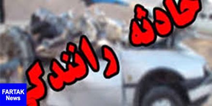 تصادف 3 خودرو با 2کشته و یک مجروح در اصفهان