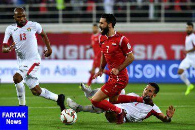 اخراج عمر خربین از تیم ملی فوتبال سوریه