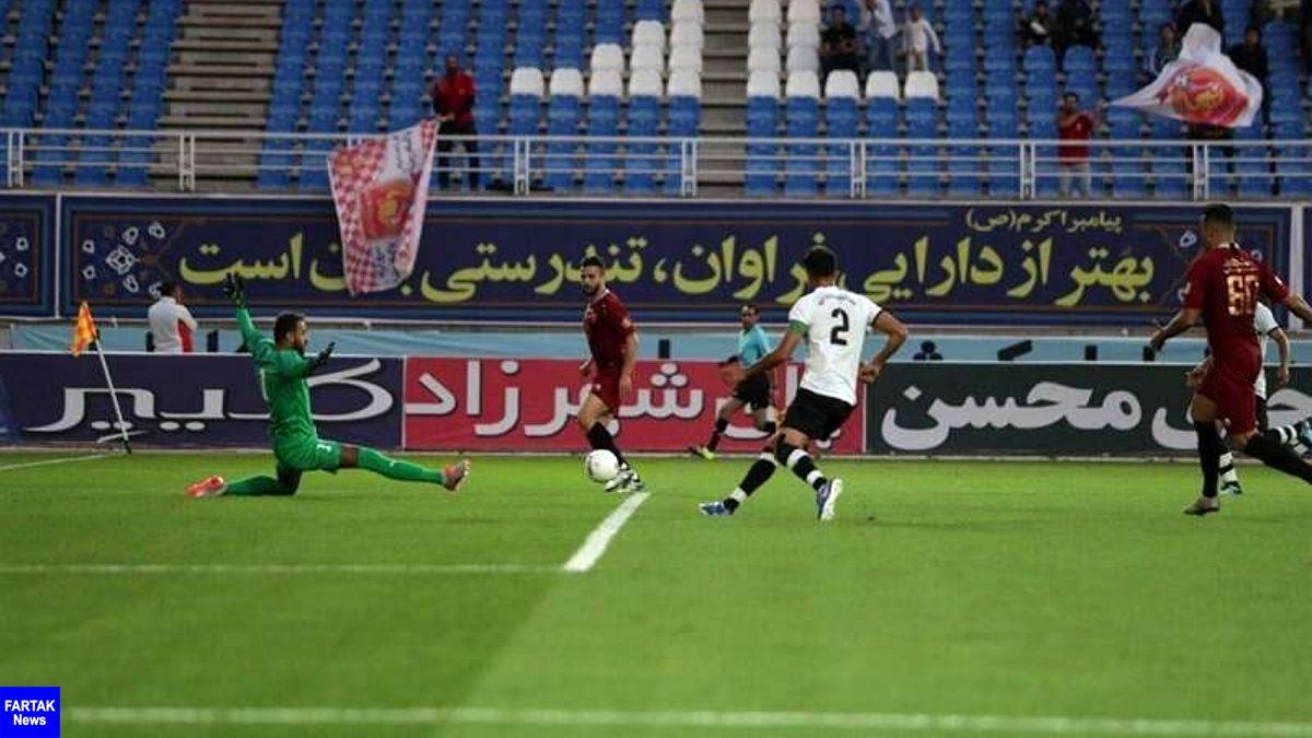 پیروزی پر گل نفت مسجد سلیمان مقابل شهرخودرو