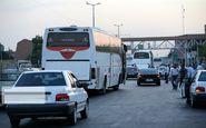 راههای خروجی تهران با ترافیک نیمهسنگین مواجه است