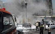 انفجار خودروی بمب گذاری شده در القامشلی سوریه