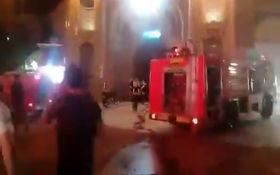فوری / آتش سوزی در حرم حضرت معصومه(س) + فیلم