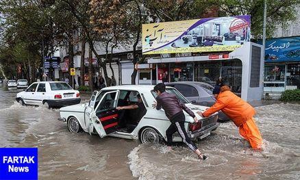 ورود سامانه بارشی جدید به کشور/ باران ۳ روزه در ۱۳ استان