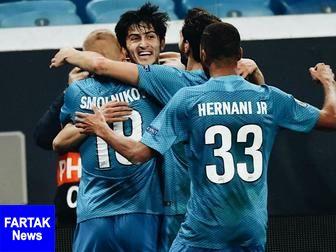 مهاجم ایرانی در ترکیب تیم منتخب هفته لیگ روسیه