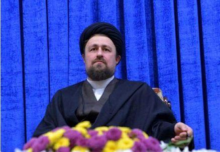رئیس سازمان سینمایی به دیدار نوه امام خمینی(ره) رفت