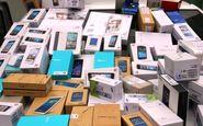 کشف 500 میلیون ریال گوشی تلفن همراه قاچاق در ثلاث باباجانی