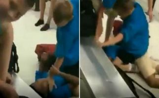 ضرب و شتم وحشیانه دانشآموز سیاهپوست در مدرسه