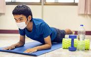 افراد در معرض خطر کووید۱۹ از ورزش های طاقت فرسا بپرهیزند
