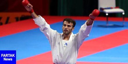 اولین سهمیه المپیک کاراته به نام بهمن