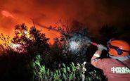 ۱۸ آتش نشان در چین جان باختند