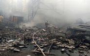 مرگ ۱۶ نفر در آتش سوزی کارخانه شیمیایی در روسیه