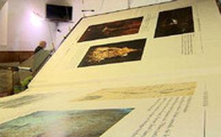 بزرگترین کتاب جهان به وزن ۱۴۰۰ کیلوگرم