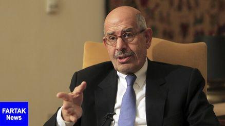 """البرادعی: اعراب قاطعانه مقابل """"معامله قرن"""" بایستند"""