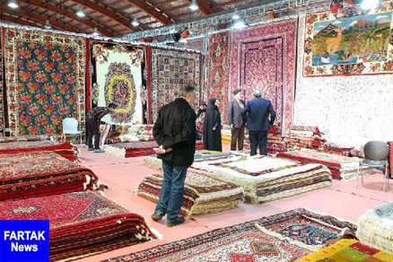 افتتاح یازدهمین نمایشگاه تخصصی فرش دستباف و تابلوفرش در قزوین