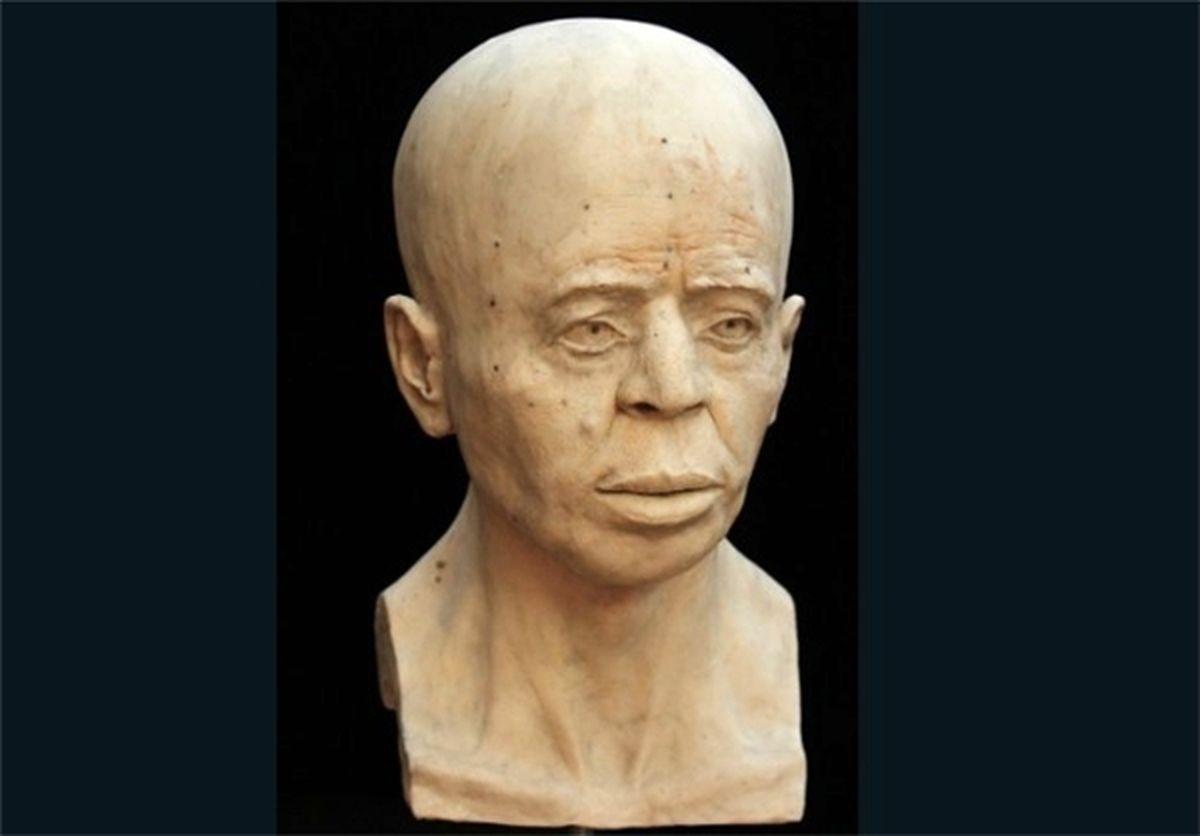 بازسازی چهره مردی که ۹۵۰۰ سال قبل زندگی میکرد/عکس