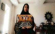 دانش آموز البرزی رتبه برترمسابقه جهانی نقاشی را کسب کرد