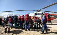 اعزام نیروها به ارتفاعات پازن پیر در صورت بهبود شرایط جوی