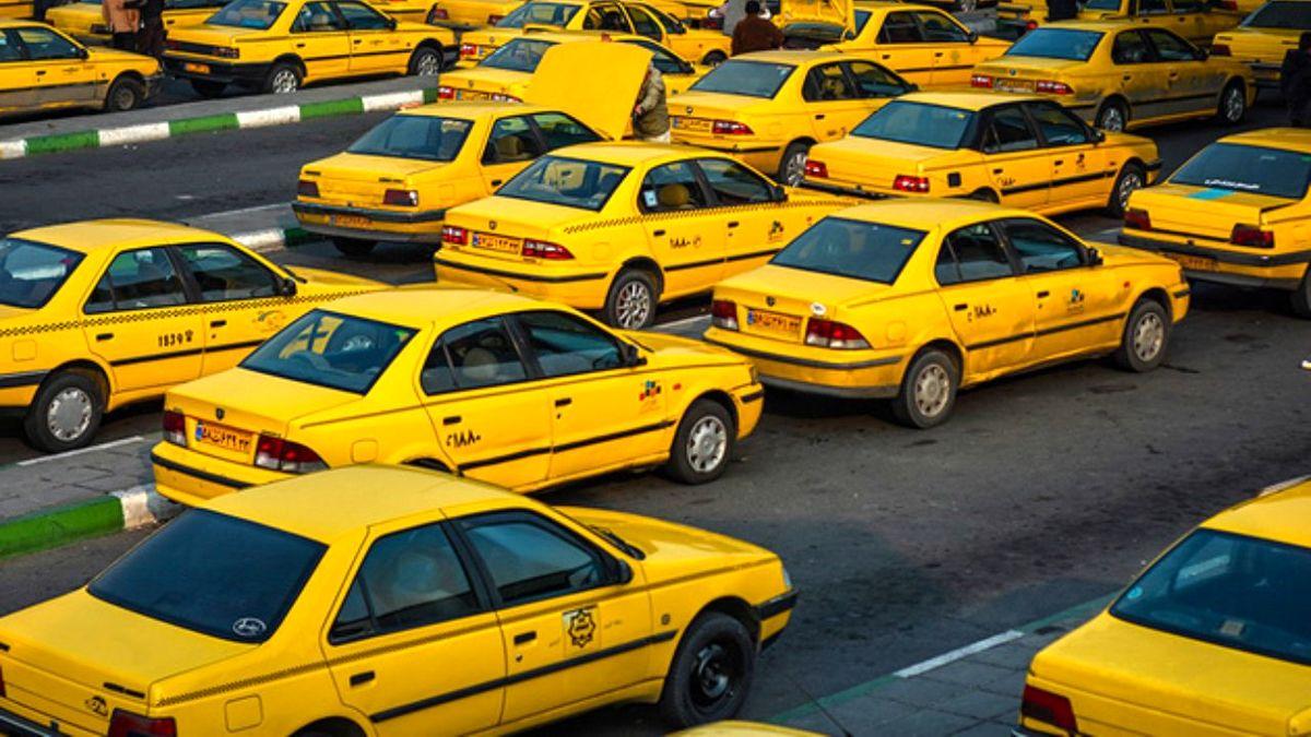 افزایش نرخ کرایه تاکسی در تهران