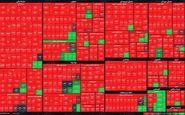 نمای پایانی بازار سهام/ شاخص کل و هموزن، افت کردند