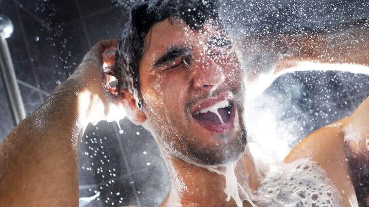 تاثیر دوش آب سرد بر سلامت انسان