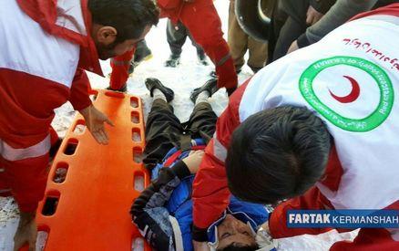 سقوط نوجوان 14 ساله از ارتفاعات شاهو