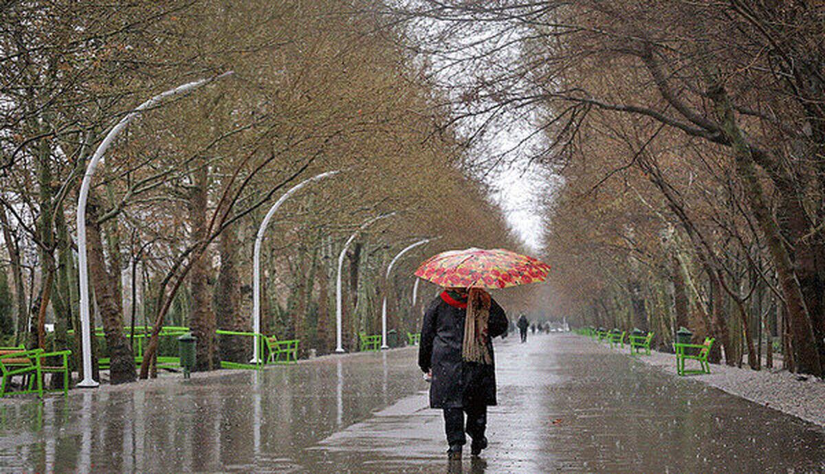 کدام استانها تا پایان هفته بارانی میشوند؟