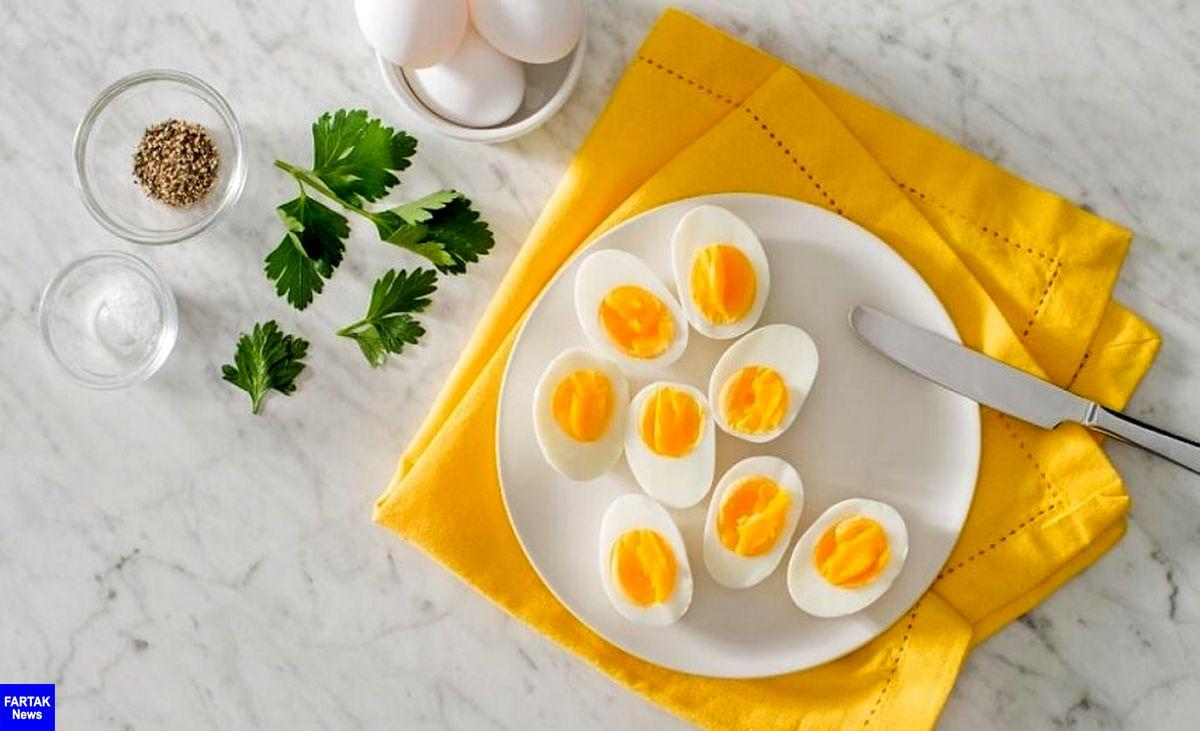 مصرف روزانه یک تخم با افزایش خطر سکته همراه نیست!