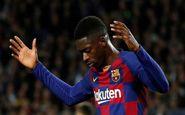 دمبله توافق منچستریونایتد با بارسلونا را بر هم زد