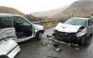 تصادف در جاده یاسوج اصفهان ۲ فوتی و ۲ مصدوم برجا گذاشت