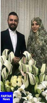 ازدواج خانم بازیگر و آقای مجری تلویزیون