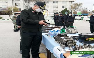 گزارش تصویری کشفیات نیروی انتظامی استان کرمانشاه در  طرح ظفر ۷ طی ۷۲ ساعت